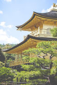 Famous Golden Pavilion in Kyoto (Japan) — Stock Photo