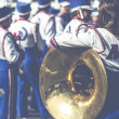 Brass Band in uniform performing  — Stock Photo #49174297