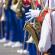 Brass Band in uniform performing  — Stock Photo #49174311