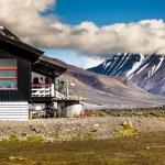Beautiful scenic view of Spitsbergen (Svalbard island), Norway — Stock Photo #49804245
