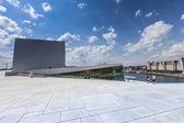 奥斯陆歌剧院从天际线。挪威 — 图库照片
