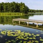 Lake Wigry National Park. Poland — Stock Photo #50339409