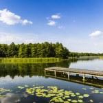 Lake Wigry National Park. Poland — Stock Photo #50339541