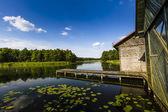 Lake Wigry National Park. Poland  — Stock Photo
