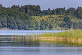 Lake Hancza. The deepest lake in central and eastern Europe. Poland  — Stock Photo