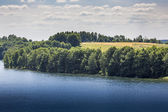 Lake hancza. het diepste meer in centraal en oost-europa. polen — Stockfoto