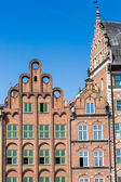 Colorful houses in Gdansk, Poland — Stock Photo
