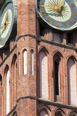 Architecture of historical city hall in Gdansk, Poland — Stock Photo