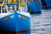 Alte fischerboote in jastarnia, polen. — Stockfoto
