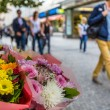 Flower stand in the center of Prague — Stock Photo #51775961