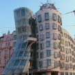 "PRAGUE CZECH REPUBLIC - Building ""Dancing House"" - Stock Photo"