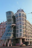 "PRAGUE CZECH REPUBLIC - Building ""Dancing House"" — Stock Photo"