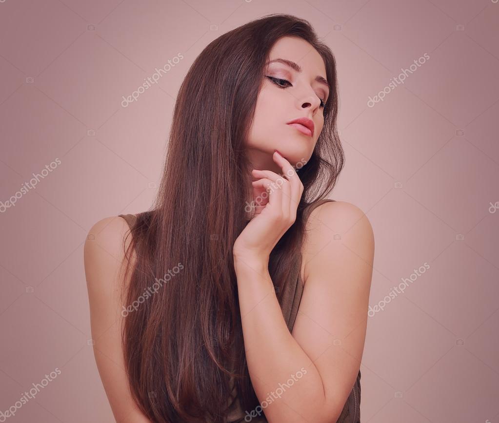 Chicas sexy con las manos abajo bragas