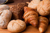 Bakery composition — Stock Photo
