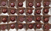 Chocolates pack — Stock fotografie