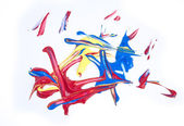 Acryl-Farben — Stockfoto