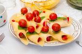 Bouchées de fromage — Photo
