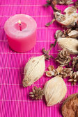 Aromatic pot pourri — Stock Photo