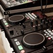 Console of DJ — Stockfoto