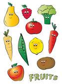 Kiddy ovoce — Stock vektor