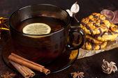 Winter tea — Stock Photo