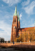 Rybnik Antoni's church — Stok fotoğraf