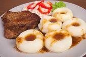 Potato dumplings — Stock Photo
