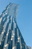 New building on Warsaw — Stock Photo