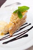 Apple Pie Dessert — Stock Photo