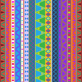 Aztec traditional pattern — Stock Vector