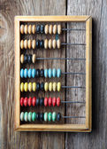Wooden abacus — Stockfoto