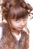 Portrait of a fanny girl. — Stock Photo