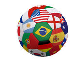 World Soccer - Football — Stock Photo