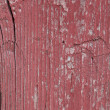 Stock Photo: Old red wood texture