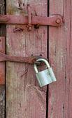 老锁 — 图库照片