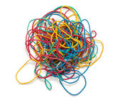 Colorful rubber band — Stock Photo