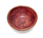 Old wooden bowl — Stock Photo