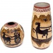 Stock Photo: Two vases in egyptistyle