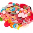 Assortment of jelly candy — Stock Photo