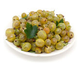 Gooseberry in a bowl — Stock Photo