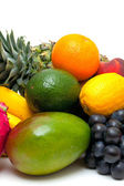 Ripe fresh fruit — Stock Photo