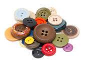 Buttons of different size, shape and color — Stock Photo