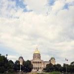 Des Moines, Iowa - State Capitol Building — Stock Photo