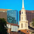 Stock Photo: Church in Boston