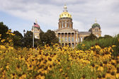 State Capitol Building in Des Moines — Stock Photo