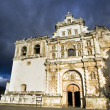 Stock Photo: SFrancisco Church in Antigua