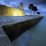 Постер, плакат: Castillo de San Marcos in St Augustine Florida