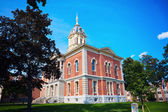 Old courthouse in Plymouth — Stock Photo
