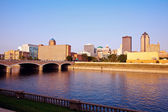 Morning in Des Moines — Stock Photo