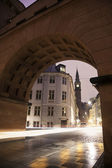 哥本哈根的体系结构 — 图库照片